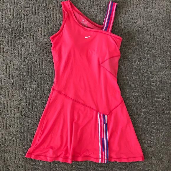 Nike Dresses & Skirts - Nike Pink Tennis Dress
